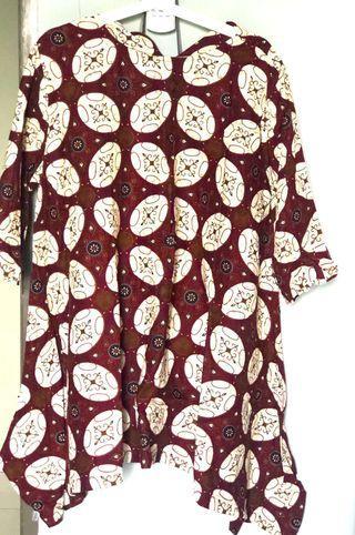Dress batik woman