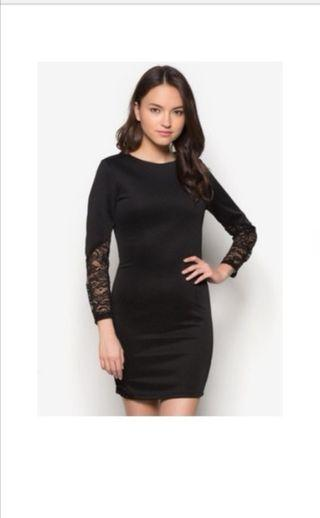 CLEARANCE SALE :Black bodycon