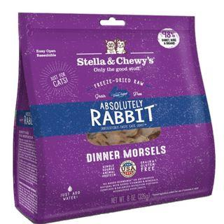 Stella & Chewy's Cat Freeze-Dried Absolutely Rabbit Dinner Morsels 8oz