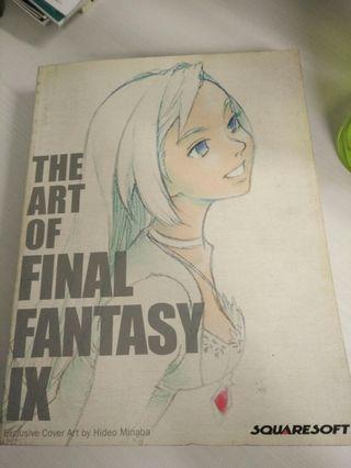 🚚 Manga The Art Of Final Fantasy Book