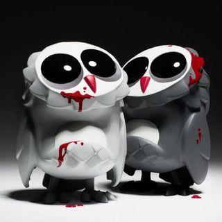 "Coarse Coarsetoys Omen Pain 7"" Grim & Grudge Mib Designer Toys Vinyl Sofubi"
