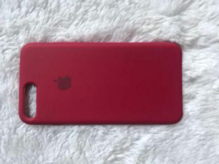 Case iphone 7 plus red