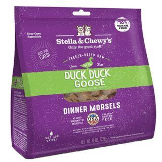 Stella & Chewy's Cat Freeze-Dried Duck Duck Goose Dinner Morsels 18oz