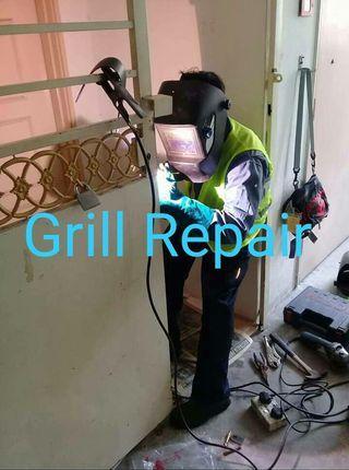 Welding repair call 011 31546239 gate repair.Grill repair.Lock repair
