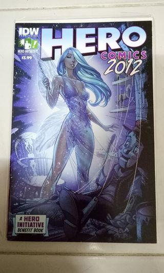 IDW COMICS HERO COMICS 2012