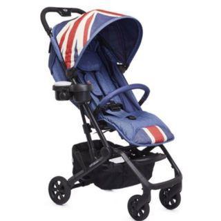 現貨 全新 荷蘭 EASYWALKER MINI Buggy XS 嬰兒手推車 傘推車 丹寧藍 輕量 可上機 可平躺