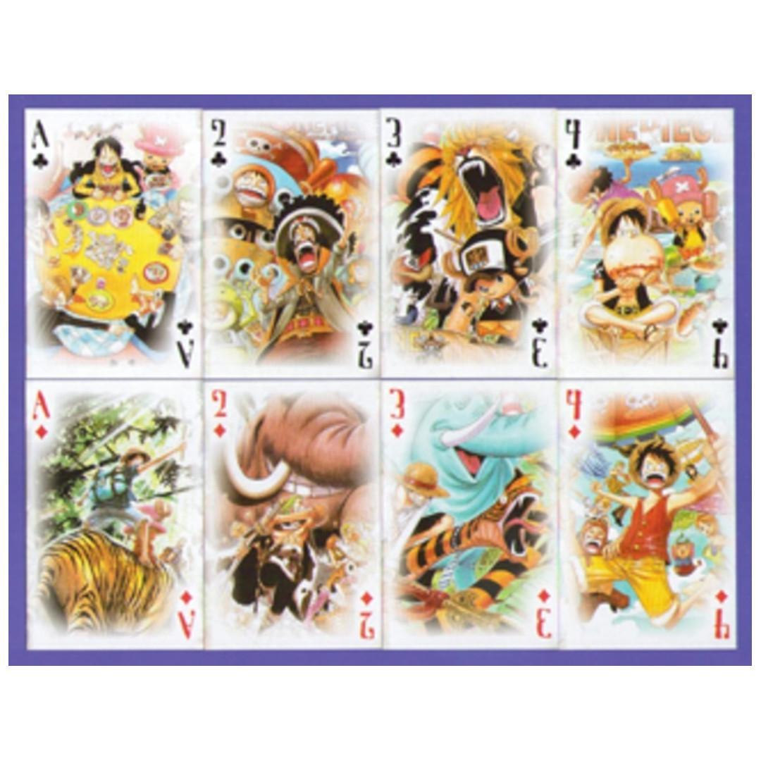《海賊王動漫畫集10周年紀念》撲克啤牌 - 全套五副
