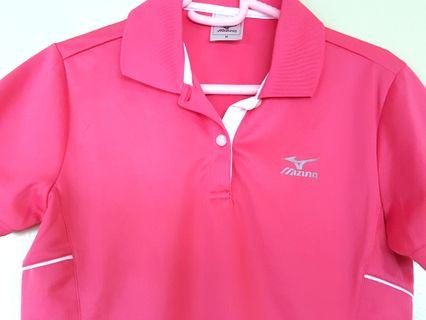 Ladies Mizuno Dri-fit Polo T-shirt