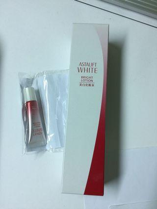 🚚 日本艾詩緹美白化妝水和防曬隔離乳