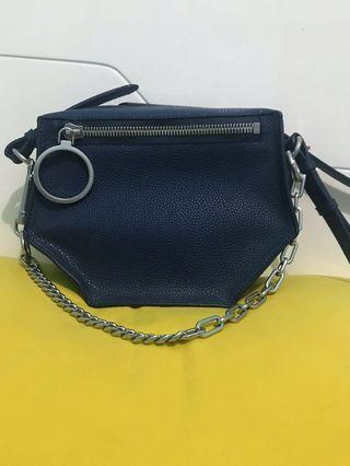 charles & keith dark blue - new arrival