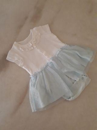 uniqlo baby romper dress with tutu