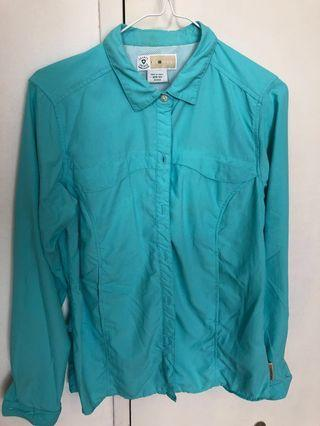 Blue anti mosquitoes jacket