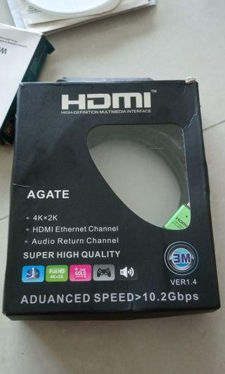 🚚 BN Agate HDMI cable.