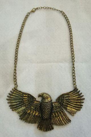#BAPAU  Kalung Silver Tembaga model Burung Garuda5