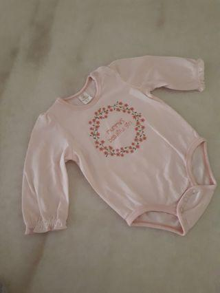 Tiny button Baby Romper