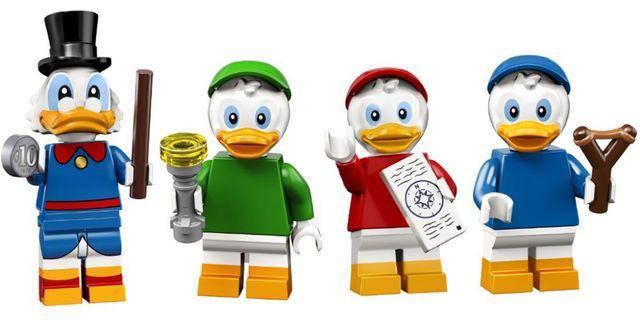 71024 LEGO Disney Minifigure (Huey, Dewey, Louis and Scrooge McDuck)