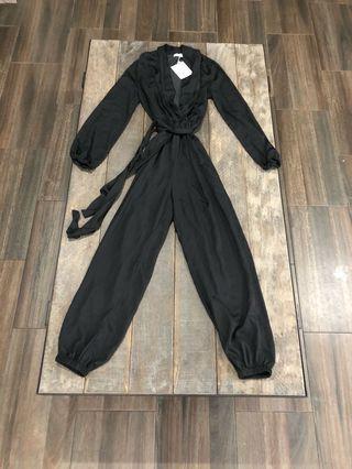 BLACK JUMPSUIT | size 8
