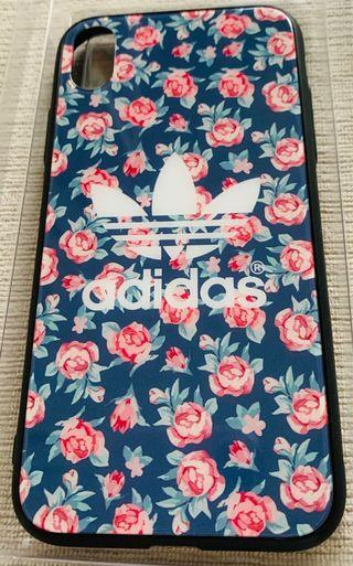 Tempered Glass Floral Print Cover