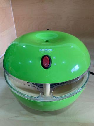 🚚 SAMPO聲寶 9瓦光觸媒吸入式捕蚊燈 綠