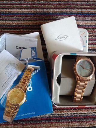 Jam tangan fossil & Casio #ramadansale