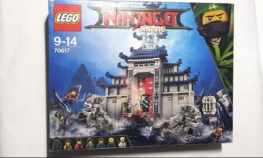 Lego 70617 Temple of the Ultimate Weapon Ninjago Movie