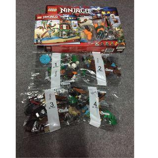 Lego 70604 - Ninjago Tiger Widow Island