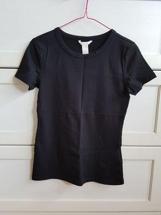 H&M Black Top/S