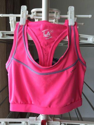 LA Gear Gym bra without padding
