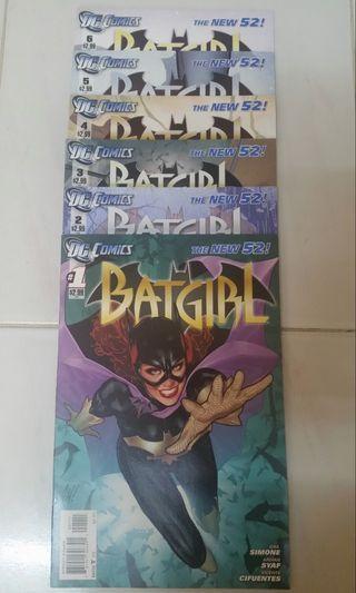 DC COMICS THE NEW 52 BATGIRL #0 - 34 SET