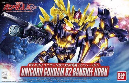 BANDAI UNICORN GUNDAM 02 BANSHEE NORN