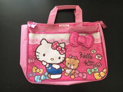 Hello kitty 功課袋