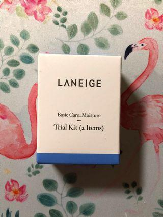 Laneige basic care Trial kit 保濕精華