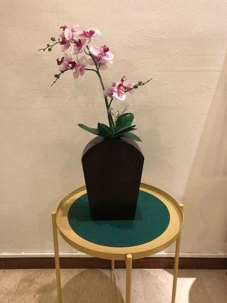 Wooden Unique Vase from Barang2