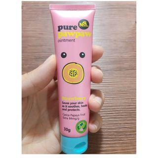 🚚 Pure PawPaw 神奇萬用木瓜霜  草莓香 25g