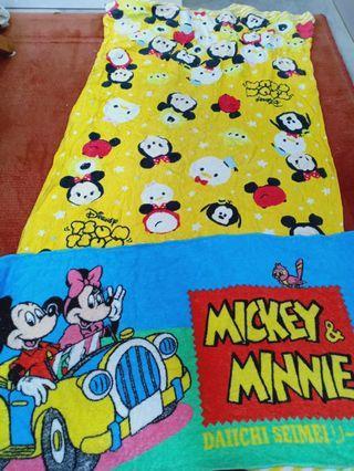 Mickey minnie disney towel