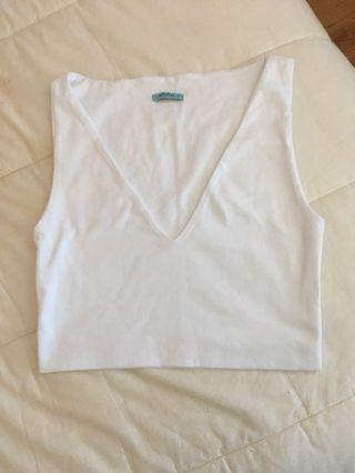 Kookai White Crop