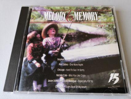 Melody & Memory Part 2 song CD