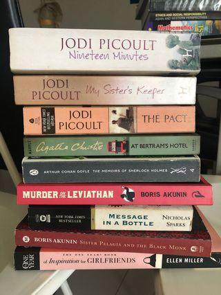 🚚 Novel books for saleee