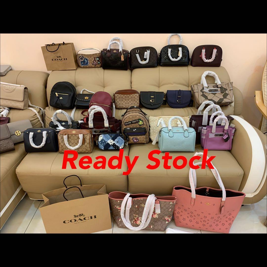 (12/05/19)Authentic Tory Burch Coach ready stock women bag camera bag wallet handbag purse