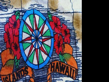 Hawaii big poster towel