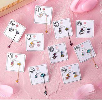 ulzzang korean earrings