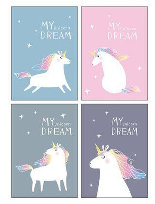Goodie bag, goody bag, unicorn notebook, unicorn stationery