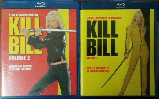Blu Ray Kill Bill Vol 1 & 2