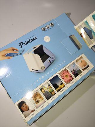 Printoss即影即有手提光學打印機(付相紙)