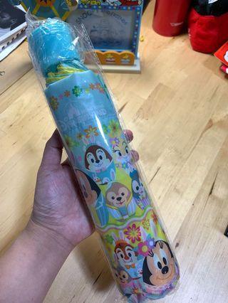 Disney Mickey,Minnie, Chip and Dale, Donald 雨傘