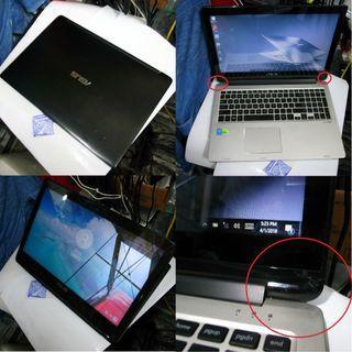 ASUS Transformer Flip Book NVIDIA i3 4th GEN 15 Inch Touch SC $400