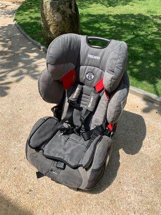 Recaro Performance Sport harness+booster seat
