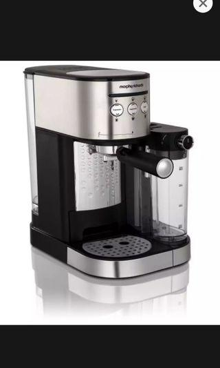 Morphy Richards 172251 Espresso Maker With Automatic Frothing MRD-172251