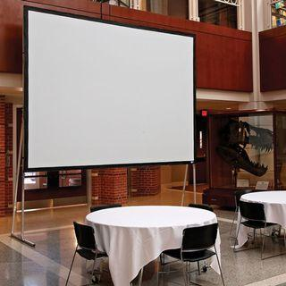 """USED Draper Folding Projection Screens ( Size:120"""" to 200"""") Selling """" As is"""""""