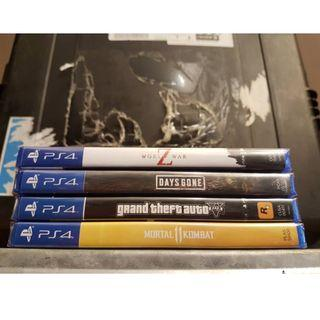 NEW PS4 GAMES FOR SALE
